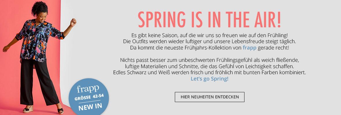 frapp präsentiert die Neuheiten für den Frühling
