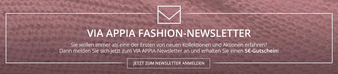 Anmeldung zum Via Appia uns Frapp Newsletter