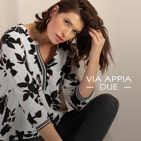 Lernen Sie unsere Modemarke Via Appia Due kennen