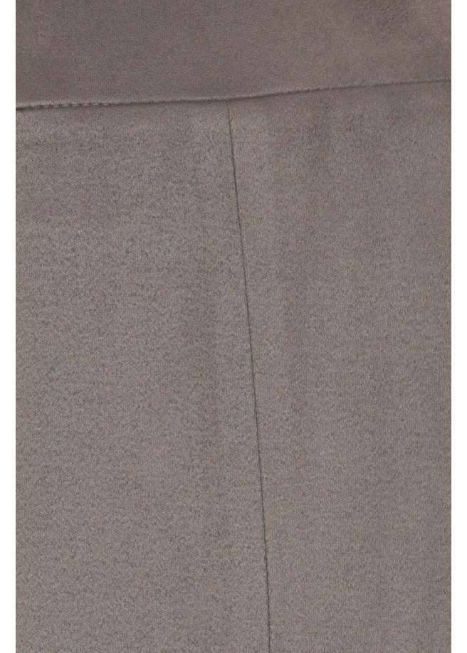 """Kunstlederhose in softer Velourslederoptik """"Wood"""" /"""