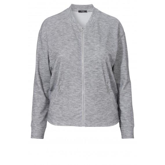 Sportive Zipper-Jacke im Blouson-Stil /