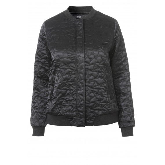 Coole Bomber-Jacke mit Stickerei-Muster /