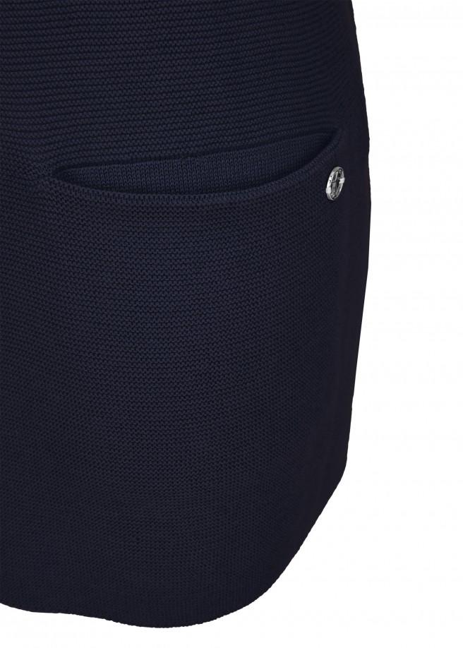 Legerer Pullover mit Eingriffstaschen /