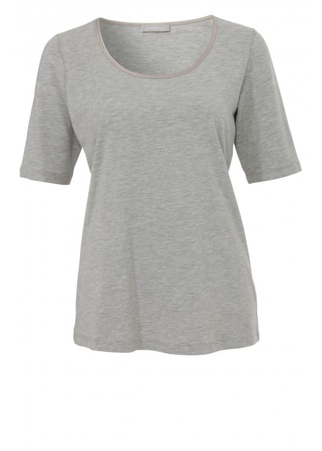 Kombi-T-Shirt mit Rundhalsausschnitt /