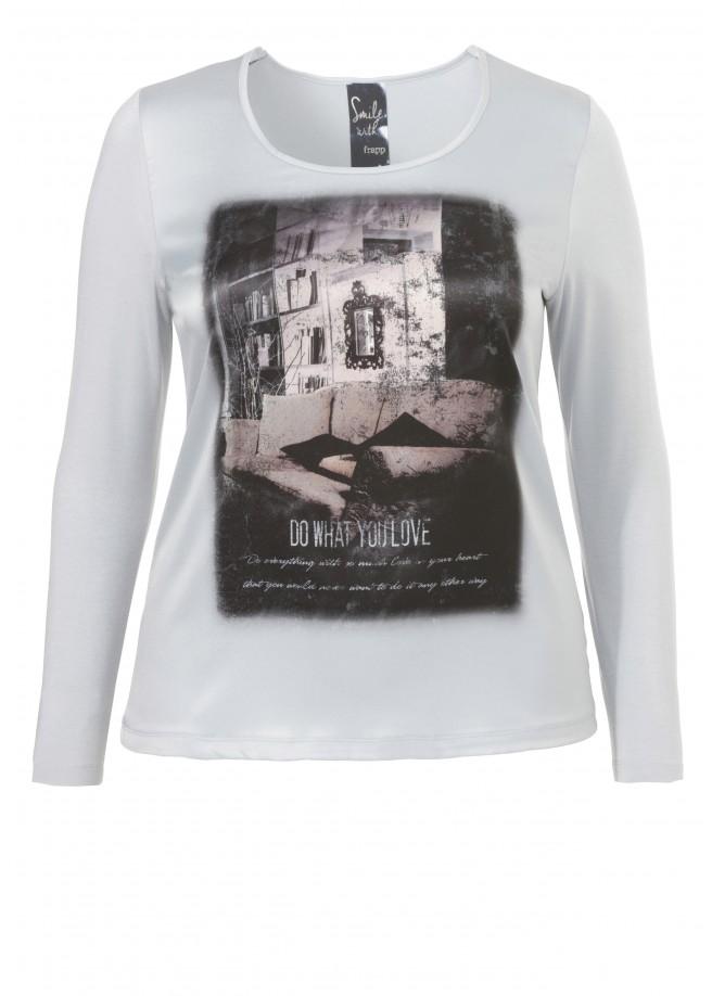 Supersoftes Viskose-Shirt mit Mystik-Print /