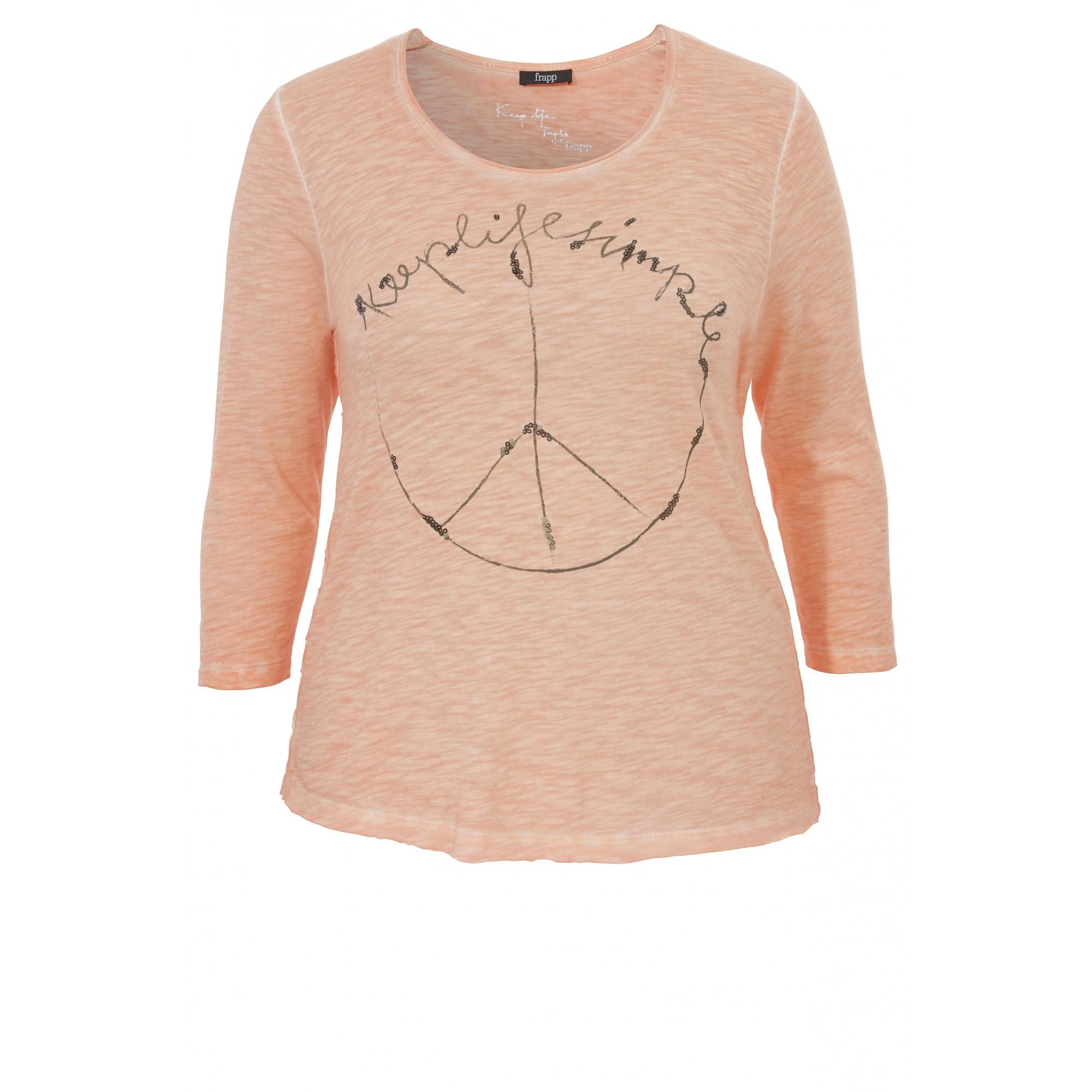 Shirt mit Peace-Motiv