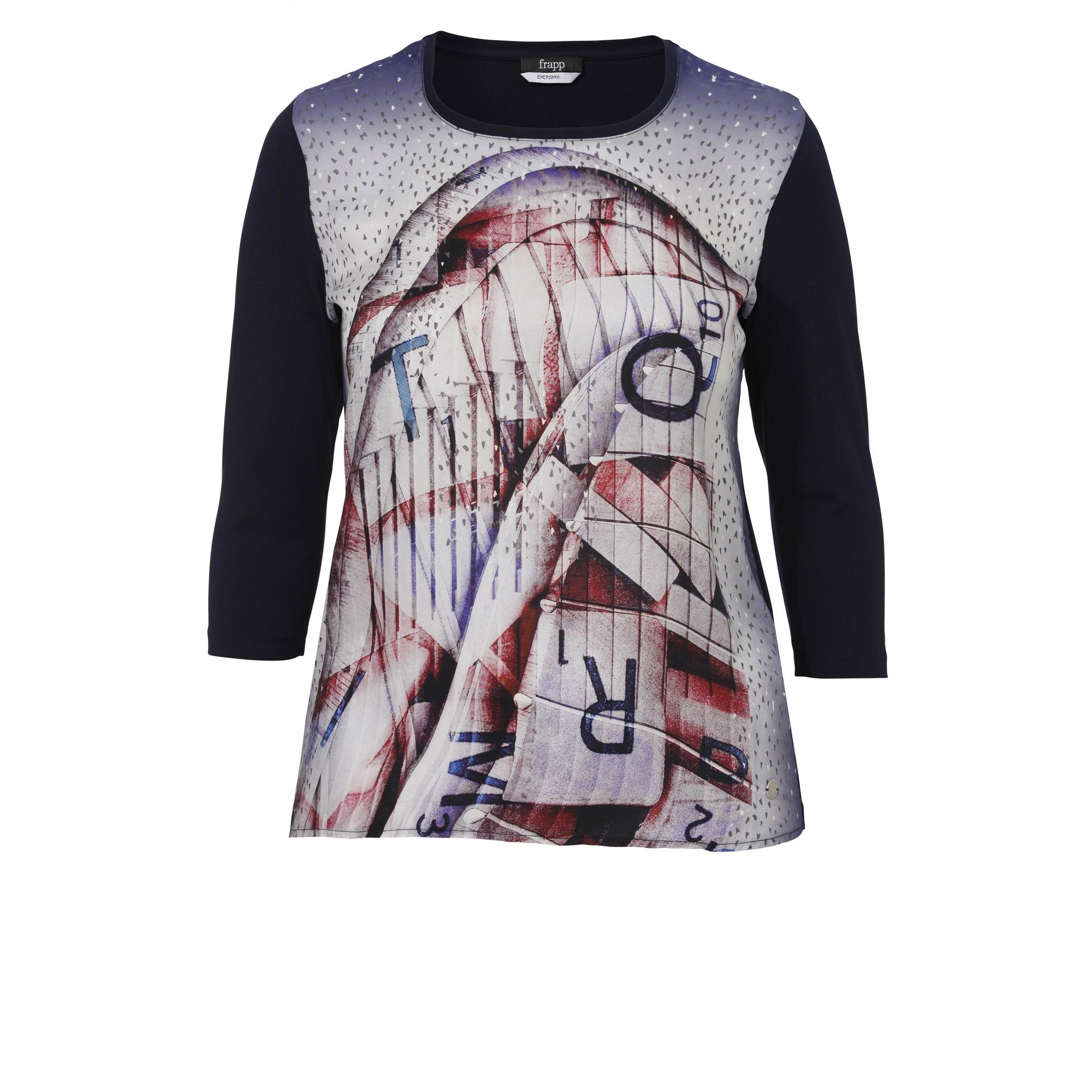 Cooles Shirt mit grafischem Motiv-Druck