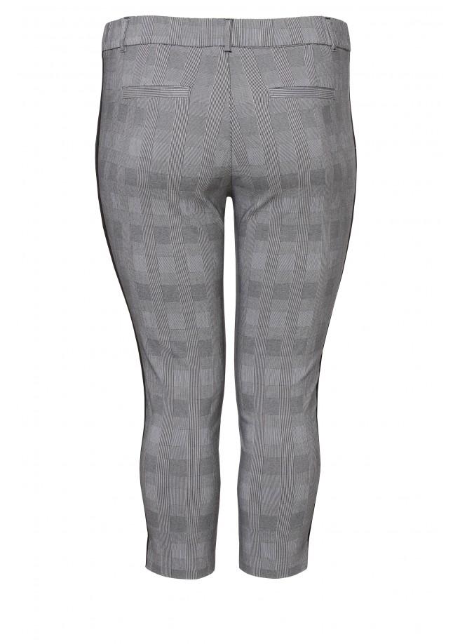 Modische Hose mit Karo-Muster /