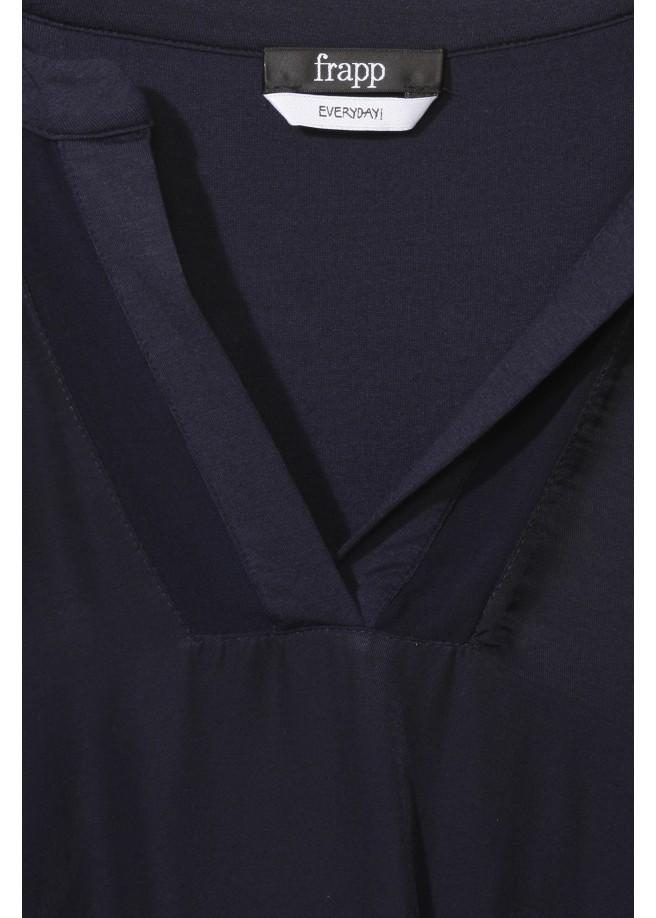 Edles Shirt mit Netzdetail /