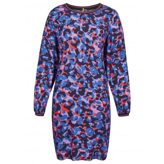 Zartes Kleid mit Eingriffstaschen /