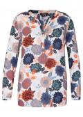 Feminine Bluse mit Blumen-Print /