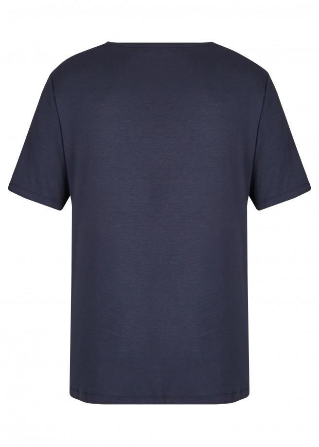 Vielseitige Bluse mit Paisley-Aufdruck /