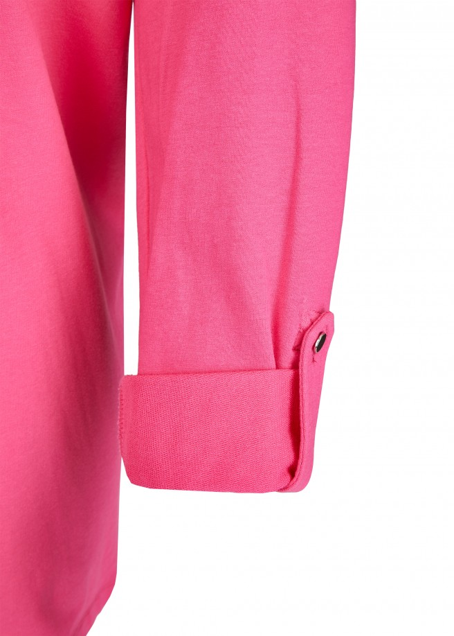 Cooles Sweatshirt mit Zier-Schnürung /