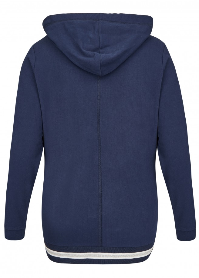 Stylische Sweat-Jacke mit Kapuze /