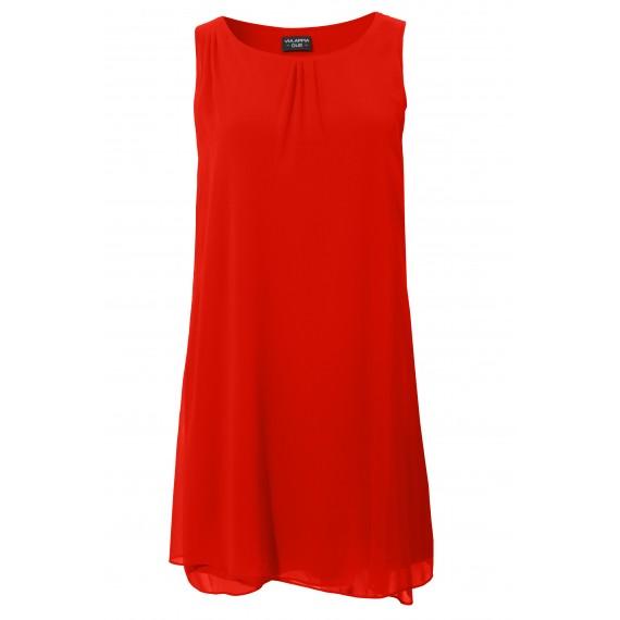 Luftiges Kleid mit Raffung /