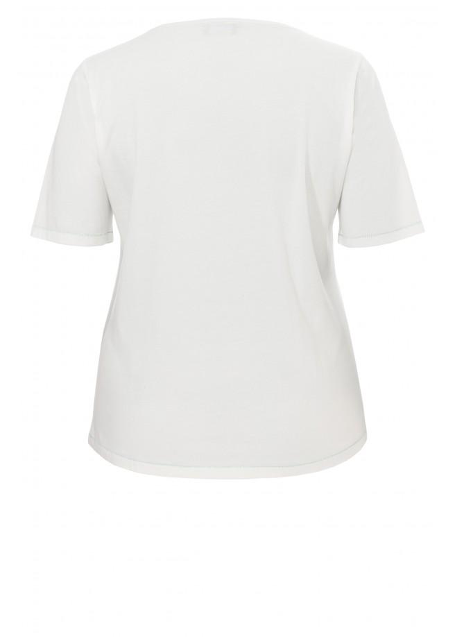 Leichtes T-Shirt mit Motiv /