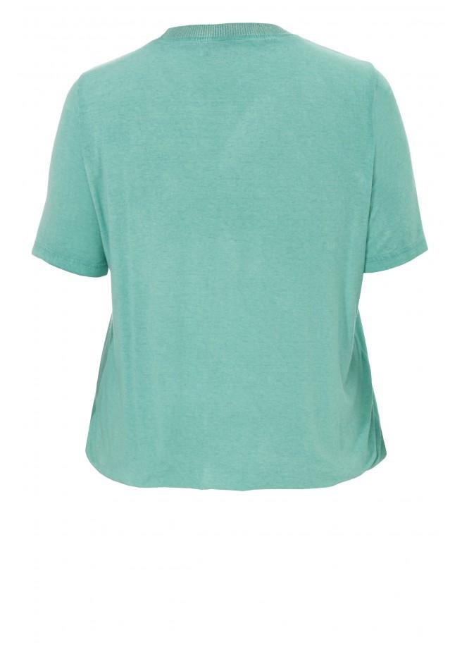 Sommerliches T-Shirt mit Motiv /