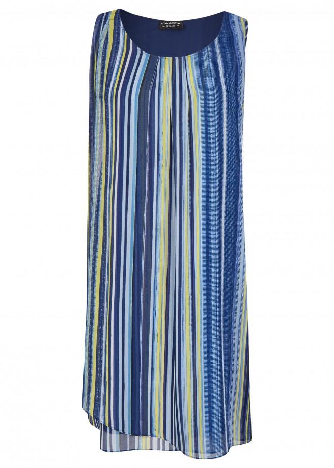 Luftiges Kleid im Layering-Stil /