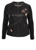 Coole Jacke mit Patches /