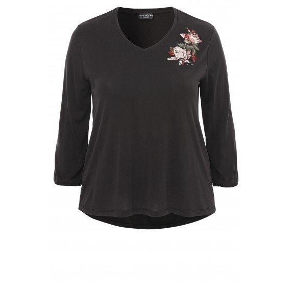 Feminines Shirt mit Stickerei /
