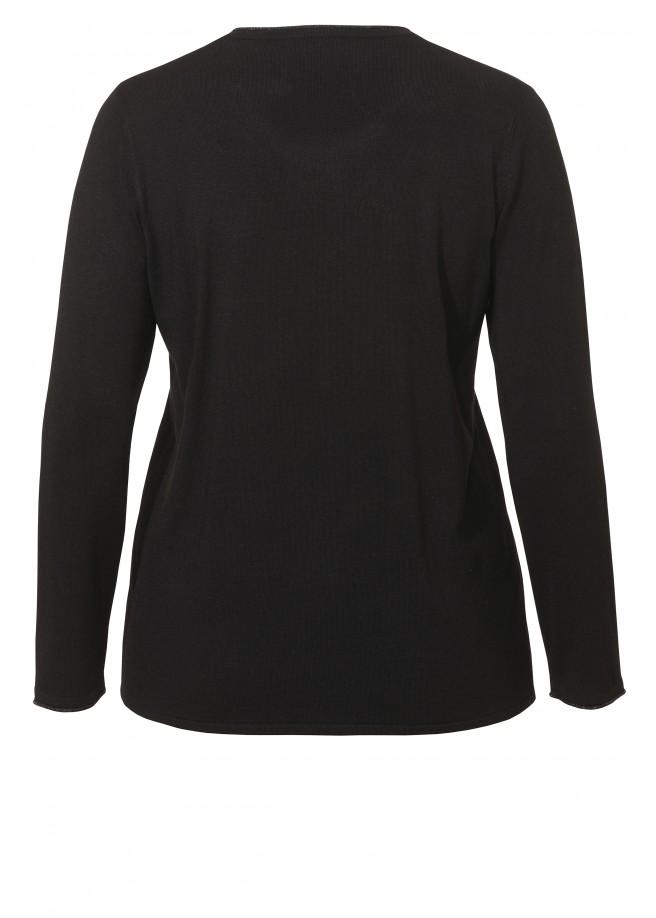 Verträumter Pullover mit Frontmotiv /