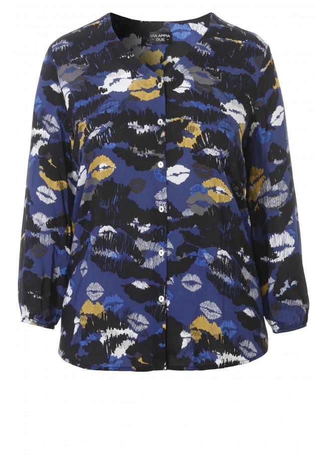 Stylische Bluse mit Print /