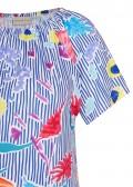 Süßes Shirt mit Carmen-Ausschnitt /