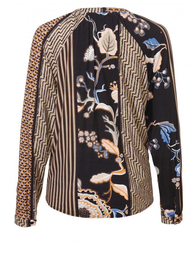 Aufregende Bluse mit Print /