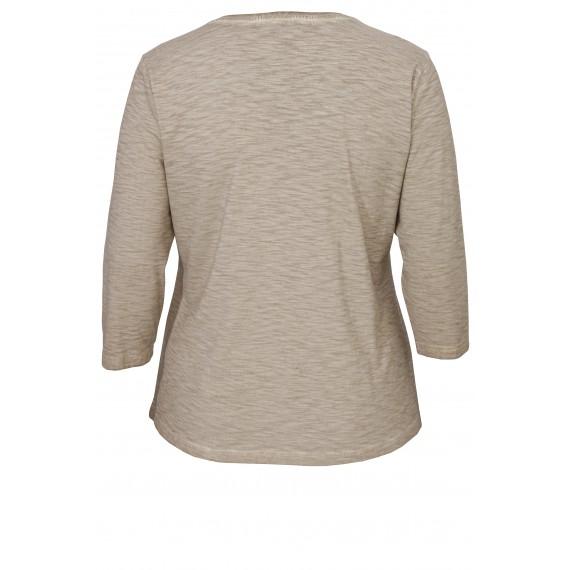 Feminines Shirt mit Ziersteinchen /
