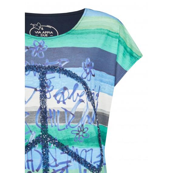 Lässiges Shirt mit Front-Motiv /