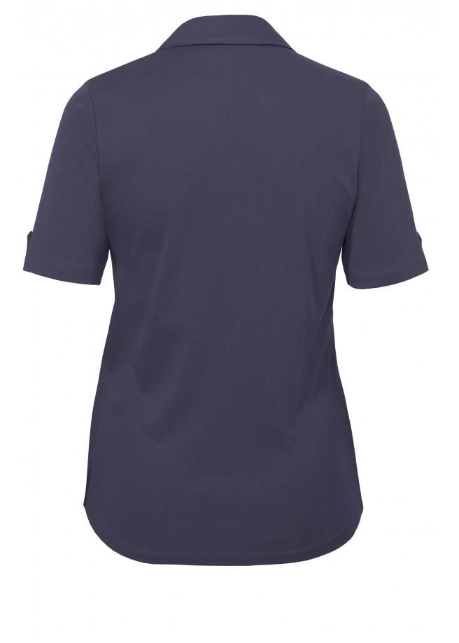 Leichtes Poloshirt mit Knöpfen /