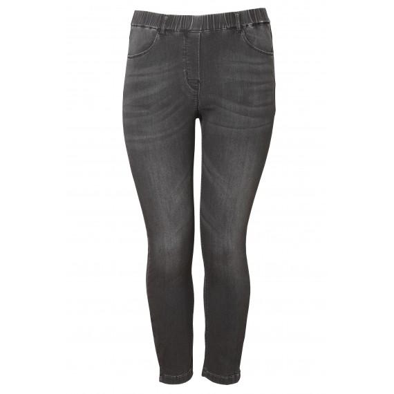 Lässige 7/8-Jeans mit Waschung /