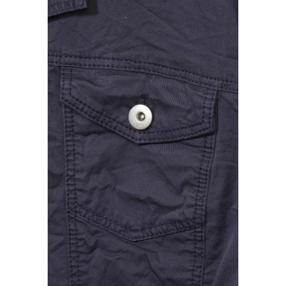 Lässige Jacke mit Hemdkragen /