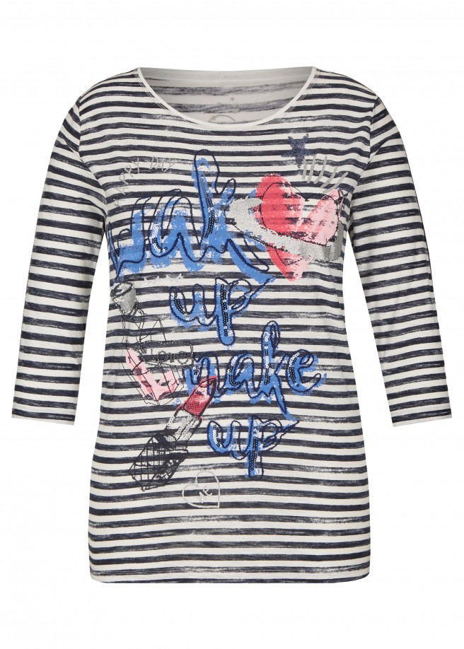 Trendiges Shirt mit Front-Motiv /