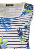 Feminines Tanktop mit Tropical-Print /