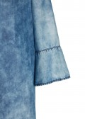 Modernes Kleid in Jeans-Optik /