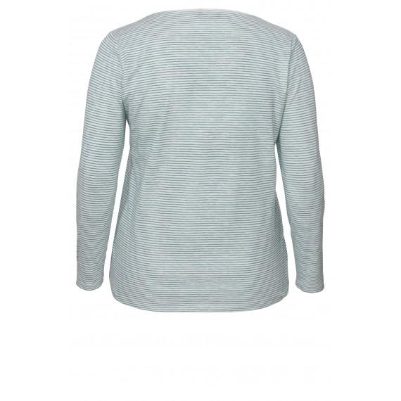 Süßes Ringel-Shirt mit Schrift /
