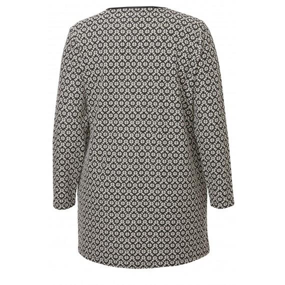 Eleganter Mantel mit Muster /