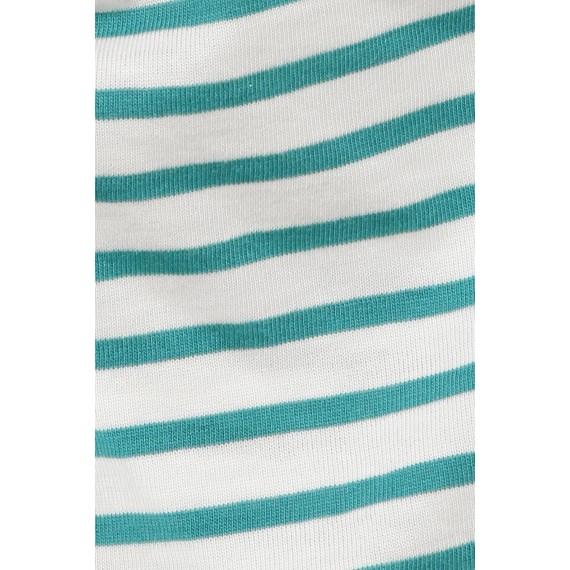 Komfortables Basic-Shirt mit Streifen /