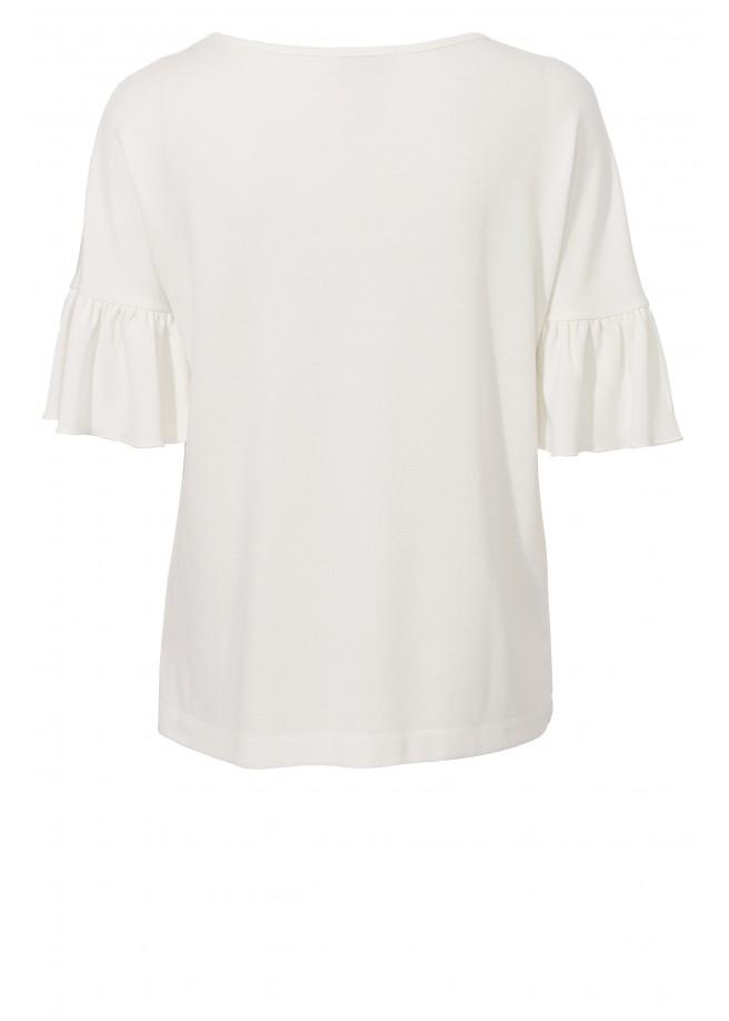 Feminines Shirt mit Volants /