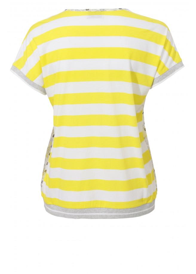 Sommerliches Shirt mit Mustermix /