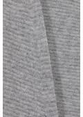 Wolljacke mit Querstreifen-Muster /