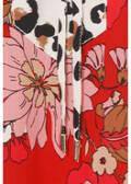 Fesche Langarmbluse mit floralem Muster /