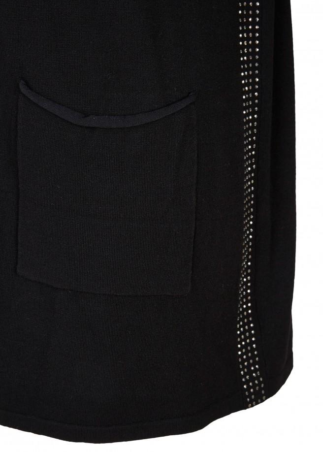 Elegante Strickjacken mit Taschen /