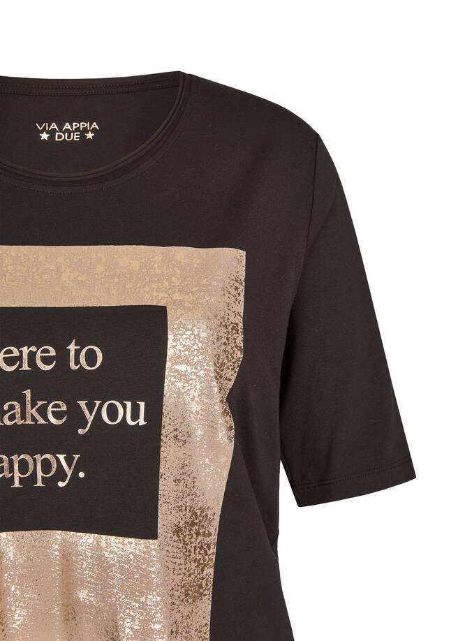 Modisches T-Shirt mit Statement /