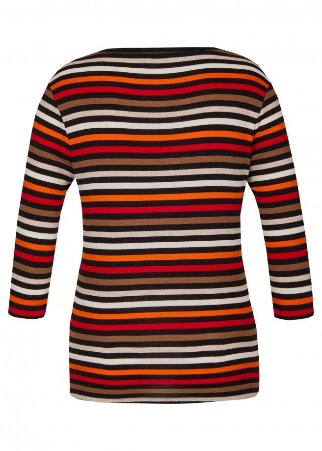 Fröhliches Shirt mit Ringelmuster /