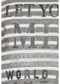 Verspieltes Ringelshirt mit geringeltem Muster /