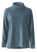 Klassisches Sweatshirt in unifarbenem Design /