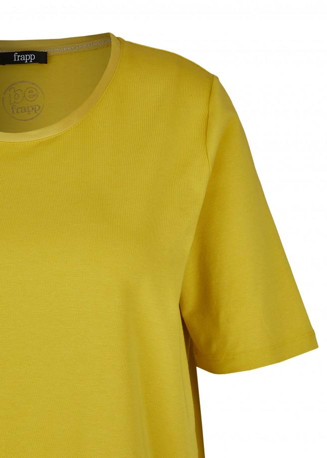 Edles Kombi-Shirt in Goldgelb /
