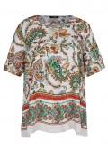 Fesche Shirtbluse mit Paisley-Muster /